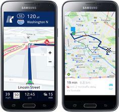 La aplicación Here Maps de Nokia, que ofrece el servicio gratuito de mapas, ahora será exclusiva de Samsung para los dispositivos Galaxy con Android y de los smartphones y smartwatches con el nuevo sistema operativo Tizen. http://www.linio.com.co/tecnologia/celulares-telefonia-gps?utm_source=pinterest&utm_medium=socialmedia&utm_campaign=COL_pinterest___celulares_celulareshome_20140926_17&wt_sm=co.socialmedia.pinterest.COL_timeline_____celulares_20140926celulareshome.-.celulares
