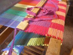rag rug weaving block design - Google Search