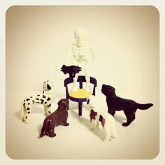 #playmobil #doll #camera #instagram #skull #dog, via Flickr.