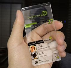 It would be sweet if they made a phone like this! Someday maybe