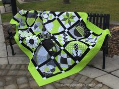2015 Block of the Month Quilt by Nancy Zieman with links to create each blog and step-by-step instructions to finish it off!