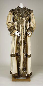Evening coat  Francis (French)  Date: ca. 1908  Medium: silk, cotton, metallic thread