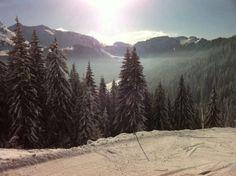 More skiing...