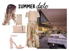 """""""Sem título #1016"""" by daiany-rodrigues ❤ liked on Polyvore featuring Gucci, Steve Madden, Givenchy, summerdate and rooftopbar"""