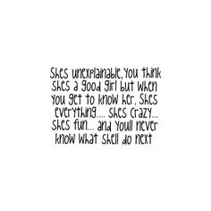 Girly Quotes, Girly Quote Graphics, Girly Graphics found on Polyvore