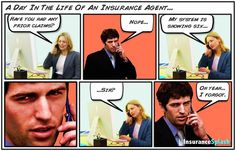 Oh man, how I can relate to this! Insurance Comic Strip