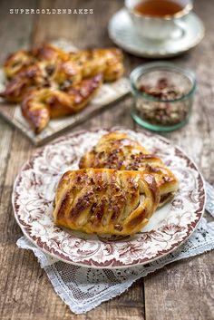 Quick and Easy Maple & Pecan Danish Pastries