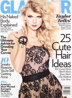 Taylor Swift Glamour Magazine wearing Catherine Angiel bracelet