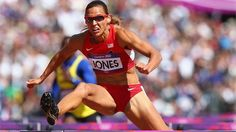 Lolo Jones of the United States competes in the women's 100m Hurdles heat on Day 10 of the London 2012 Olympic Games.