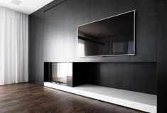 Come installare un caminetto insieme ad un televisore