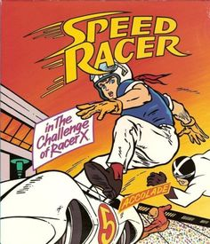 The Challenge of Racer X – Video Game Cover