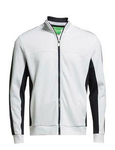 Hvide Hugo Boss Skaz trøjer - ModeJagten