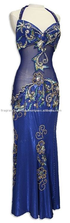 Handmade Professional Belly Dance Costume / Outfits ~ Egyptian Costumes / Dress ~ Tribal Clothing