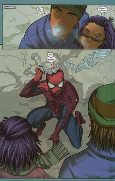 Even Spidey wants to be Batman.