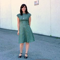 An Anna Dress for Me - sewaholic.net