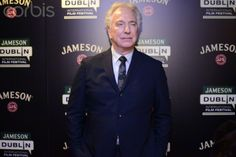 Dublin, Ireland. 28th March 2015 — Actor and director Alan Rickman attends a special presentation of his new film 'A Little Chaos' at the Jameson Dublin International Film Festival.