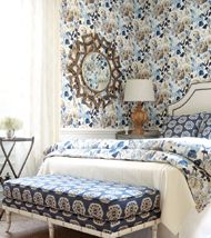 """Garden State of Mind""  Thibaut wallpaper"