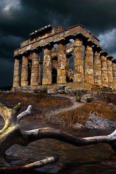 ITALIA - Selinunte, Sicily by Phil-Norton