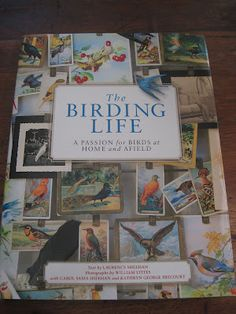 A book for the home? Yes! This is for the bird lover who also decorates with all things bird. The Birding Life highlights studios of famous bird artists,collections that are bird related, and so much more. Display this on a table or shelf and you'll return to it often.