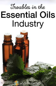 """Ever wonder how the essential oils industry works, and what makes some companies better than others? What about the """"Therapeutic Grade"""" claims the MLM oils companies make? Come find out all you ever wanted to know about oils companies and more!"""