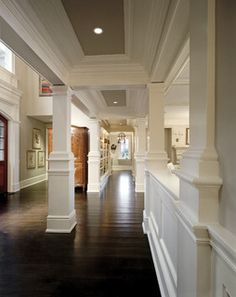 Darien Residence - traditional - hall - new york - by Robert A. Cardello Architects