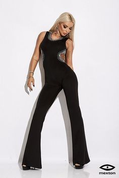 24e47a4aeb7f Nuovi arrivi - Abbigliamento donna online - Le Aste di Sohà. Tute. Tuta  elegante di colore nero con ...