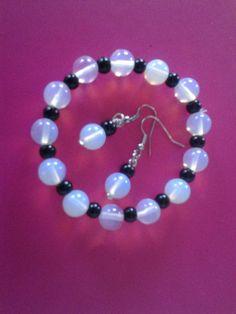 Mondstein perlen Hompescher Perlenstübchen