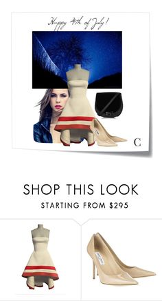 """""""Independent Candy"""" by couturecandy ❤ liked on Polyvore featuring Post-It, Jimmy Choo and modern"""