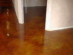 Concrete Floor Painting ~Thinking this would be cheap and easy for the basement floor.