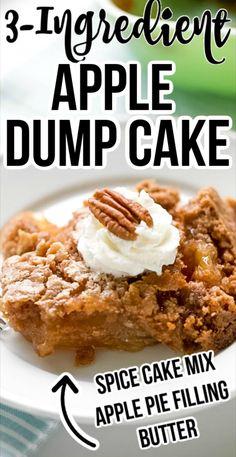 Irish Desserts, Cake Mix Desserts, 13 Desserts, Easy Desserts To Make, Easy Apple Desserts, Simple Dessert Recipes, East Dessert Recipes, Cinnamon Desserts, Southern Desserts