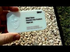 3D Printed Business Card with Topographical Portrait  #3dPrinteresting #3dPrinting