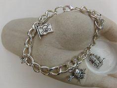 Men's Bracelet Charm Bracelet Men's Jewellery by OswestryJewels