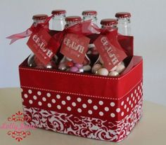 decorate the carton too....very cute