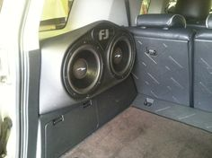 Off road recreation workhorse or tune-cranking party machine? How about both! Today, we're throwing back to 2013, when we installed a massive sound system upgrade, in this Toyota FJ Cruiser! First, we removed the factory components. Then we insulated strategic locations with Dynamat. And we installed a very high-quality Linear Power Blues component set and subs, consisting of dash-mouted tweeters, door-mounted 8-inch midrange speakers, and four 10-inch subwoofers.