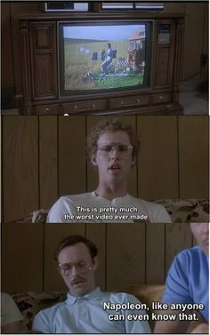 While I was doing history vocabulary we were talking and I was like Napoleon Dynamite! because I thought an answer was Napoleon. Funny Movies, Great Movies, Love Movie, I Movie, Nepolian Dynamite, Napoleon Dynamite Quotes, Bad Video, Ella Enchanted, Favorite Movie Quotes