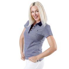 ddc3ffd1010 FRANSA Γυναικείο κοντομάνικο πουκαμισάκι. Πόλο. FRANSA Πικέ πόλο μπλουζάκι