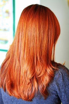 I really want some red hair right now.