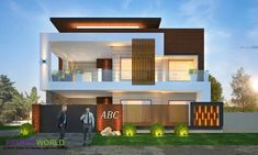 Home color exterior indian 37 ideas Modern Bungalow Exterior, Modern Exterior House Designs, Dream House Exterior, Modern House Design, Exterior Design, Architect Design House, Bungalow House Design, Architectural Design House Plans, House Outside Design