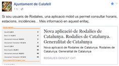 WEBSEGUR.com: NUEVA App, RODALIES DE CATALUNYA