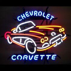 Corvette C1 1950s Neon Sign