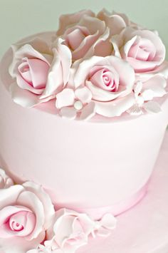 Roses pink party styled by Piccoli Elfi www. Easy Birthday Desserts, Dessert Table Birthday, Elegant Birthday Cakes, Cake Decorating Courses, Wilton Cake Decorating, Decorating Ideas, Vintage Cake Plates, Vintage Cakes, Pink Foods