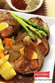 Beef Morcon | Entree Recipes | My Great Food