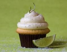 """Celebrate Cinco de Mayo with Margarita Cupcakes!   Ingredients  1 yellow cake mix  1 teaspoon vanilla extract  2 tablespoons lime flavored tequila  1 tablespoon fresh lime juice  2 teaspoons lime zest    Prepare the cake mix according to package directions, then add in the extra ingredients.    Frosting:  1/4 cup butter, melted  1 tbsp heavy whipping cream  3 tbsp lime juice  1 tbsp tequila  2+ cups confectioners' sugar  coarse sugar and salt for """"rims""""    Cream together all ingredients."""