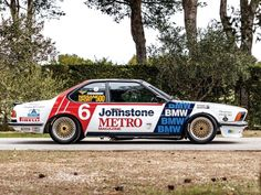 Constructed in by BMW specialists Ted Grace International for Frank Sytner Competed in BTCC/ ETCC in 1983 and driven by Frank Sytner,. Bmw 635 Csi, Bmw E24, Bmw Dealer, British Grand Prix, Collector Cars For Sale, Car Storage, Vintage Racing, Volvo, Jaguar