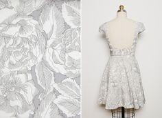 pretty pattern via Darling Dexter