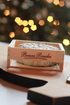 Getting Cozy with Bonne Bouche aged goat cheese by Vermont Creamery