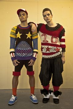 Crazy Knits Collection: Lipstick Stab Wounds Collection - CARLO VOLPI