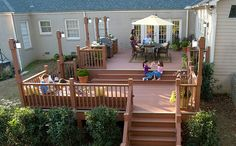 "Turn a deck into your favorite ""room"" in the house with #ChoiceDek composite decking."