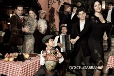 Monica Belluci and Bianca Balti get together for the Dolce & Gabbana Fall/Winter 2012 Campaign