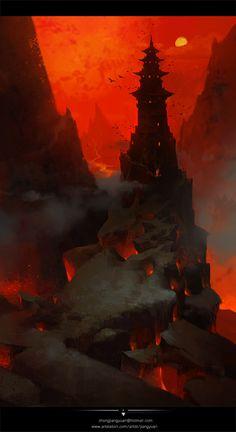 ArtStation - red, Blackie Chung